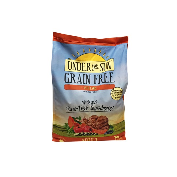 Under The Sun Grain Free Lamb Adult Dog Food