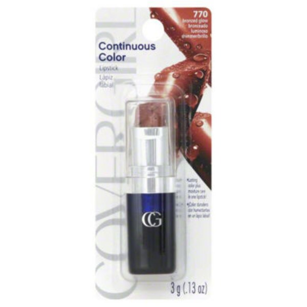 CoverGirl Continuous Color 770 Bronzed Glow Lipstick