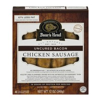 Boar's Head Uncured Bacon Chicken Sausage - 4 CT