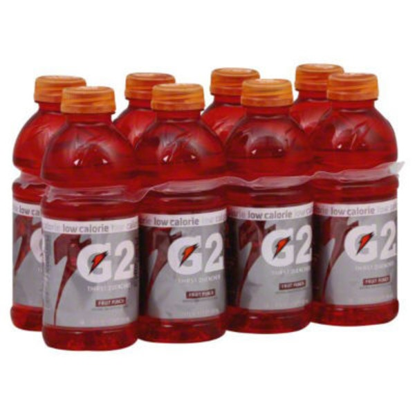 Gatorade Gatorade Thirst Quencher Low Calorie Fruit Punch Sports Drink