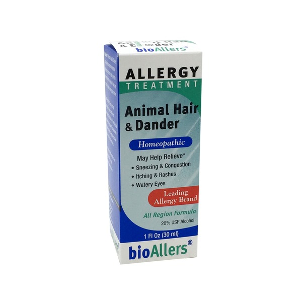 bioAllers All Region Relief, Animal Hair & Dander