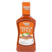 Great Value Sweet & Tangy French Style Dressing, 16 fl oz