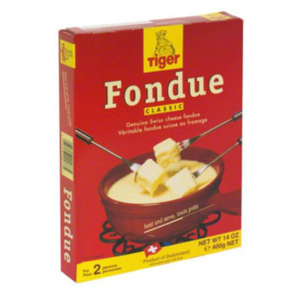 Tiger Beer Classic Swiss Cheese Fondue