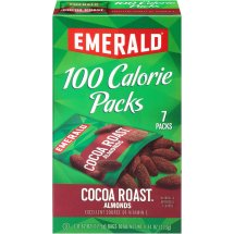 Emerald Cocoa Roast Almonds, 100 Calorie Packs- 7 Count Boxes