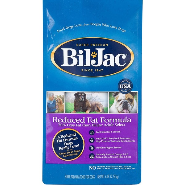 Bil-Jac Reduced Fat Adult Dry Dog Food