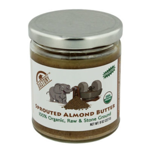 Dastony Organic Sprouted Almond Butter