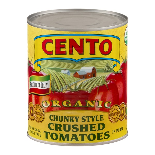 Cento Pureed Chunky Style Crushed Tomatoes