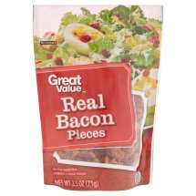 Great Value Real Bacon Pieces, 2.5 oz