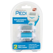 Personal Pedi by Laurant Replacement Rollers, 2 count