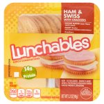 Lunchables Ham & Swiss with Crackers Lunch Combinations, 3.2 oz