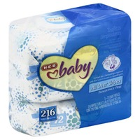 H-E-B Baby All Purpose Wipes Fragrance Free With Aloe Vera & Vitamin E