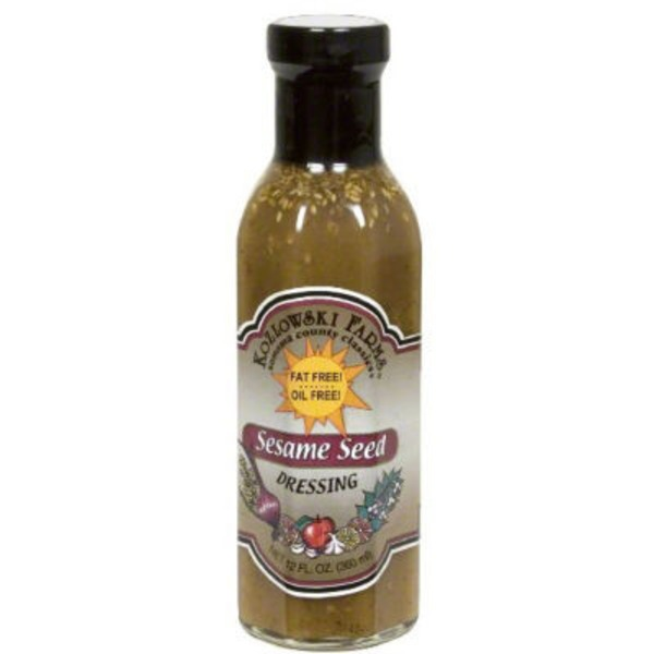 Kozlowski Farms Fat Free Sesame Seed Dressing