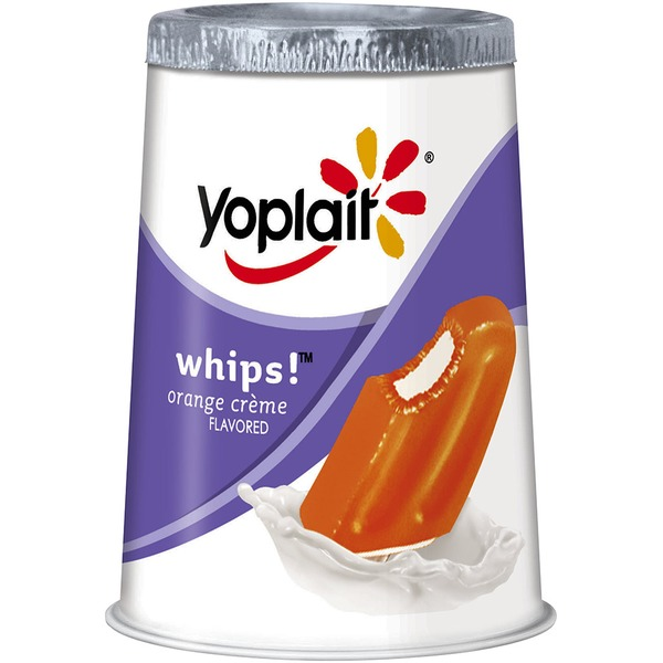 Yoplait Whips! Orange Creme Flavored Lowfat Yogurt Mousse