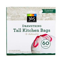 365 Drawstring Tall Kitchen Bags