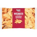 Great Value Wedges Deli Style Seasoned Potatoes, 32 oz
