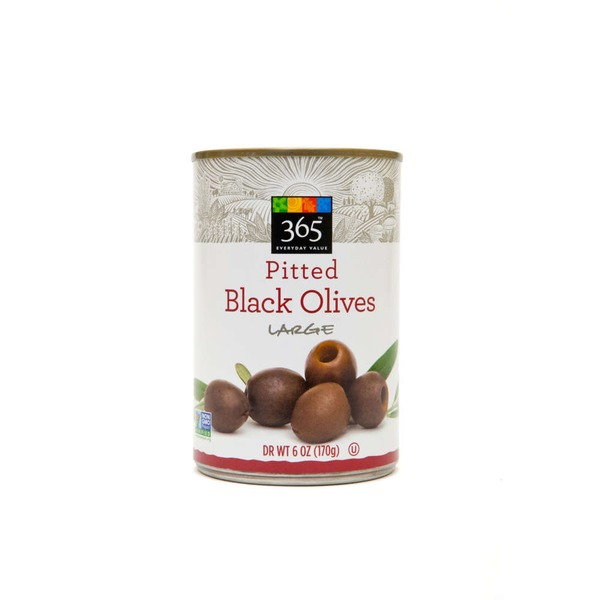 365 Ripe Large Pitted Olives