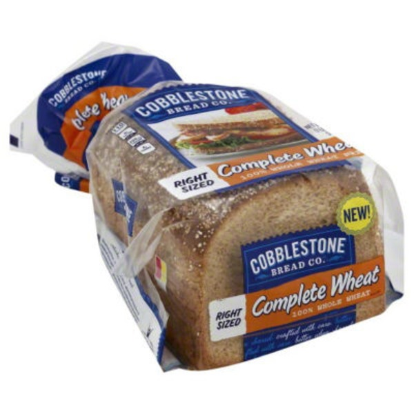 Cobblestone Mill Complete Wheat 100% Whole Wheat Bread