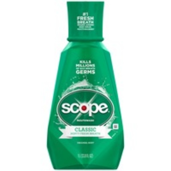 Scope Classic Original Mint Mouthwash