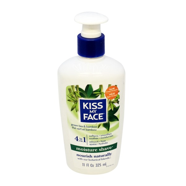 Kiss My Face Green Tea & Bamboo Moisture Shave