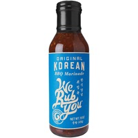 We Rub You Original Korean BBQ Sauce & Marinade