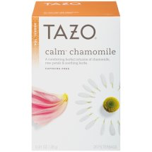 Tazo Herbal Tea, Calm Chamomile, Tea Bags, 20 Ct