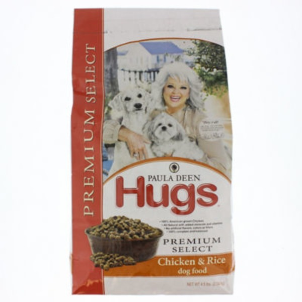 Paula Deen Hugs Premium Select Chicken & Rice Dog Food