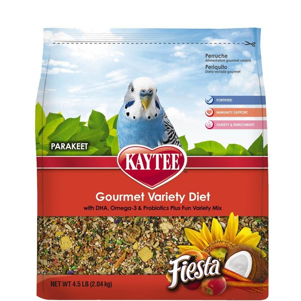 Kaytee Fiesta Bird Food For Parakeets