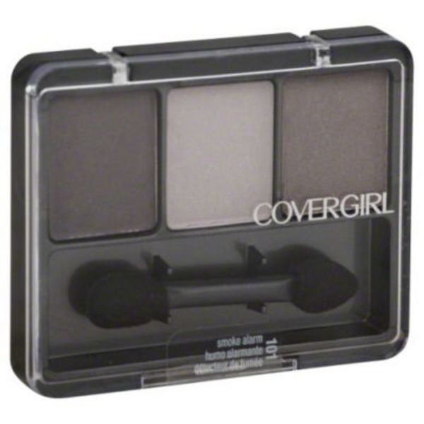 CoverGirl Eye Enhancer COVERGIRL Eye Enhancers 3-Kit Eye Shadow, Smoke Alarm .14 oz (4 g) Female Cosmetics