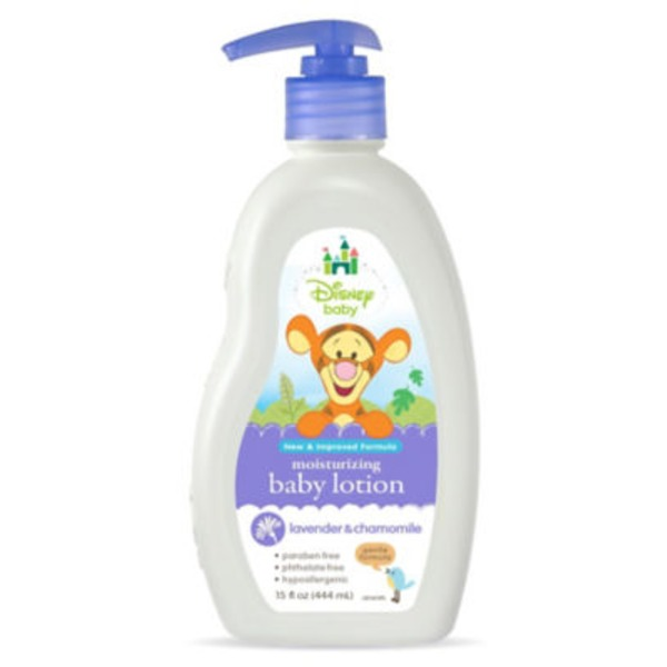 Daily Renewal Naturals Baby Lotion, Disney Winnie The Pooh, Lavender & Chamomile