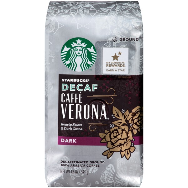 Starbucks Dark Caffe Ground Coffee