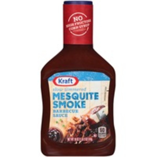 Kraft Barbecue Sauce Mesquite Smoke Barbecue Sauce