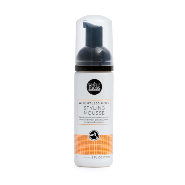 Whole Foods Market Weightless Hold Styling Mousse