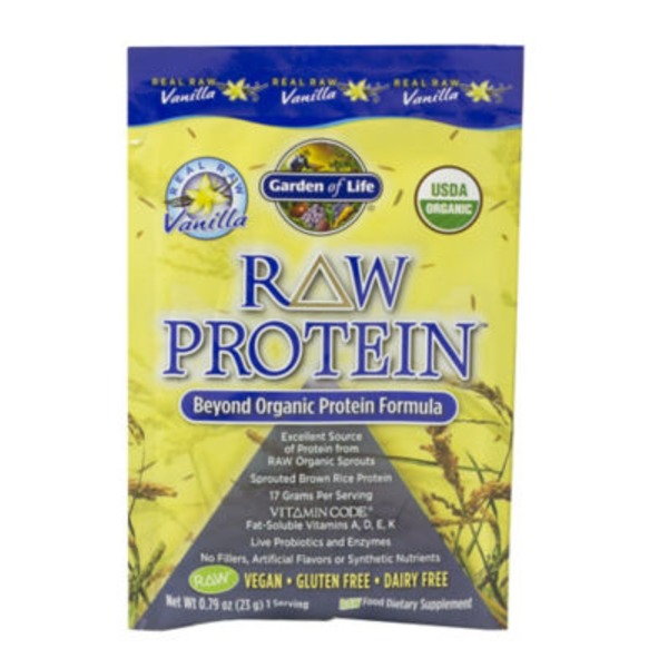Garden of Life Raw Protein Packet Vanilla