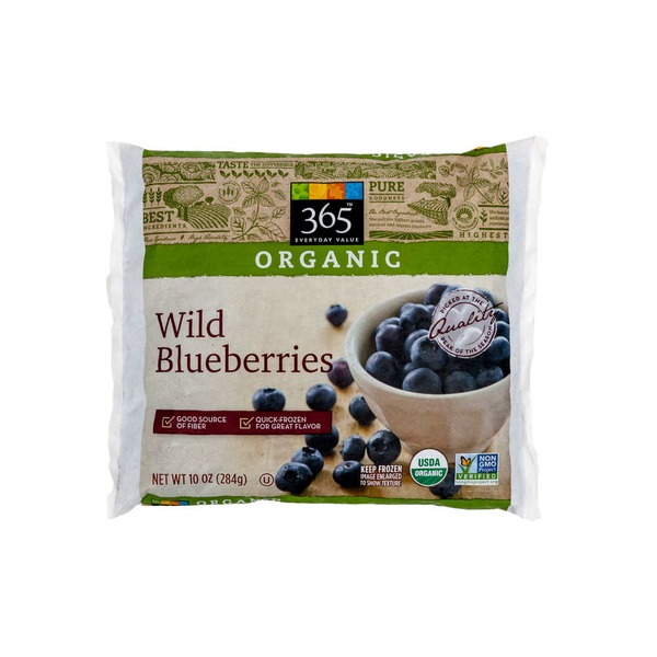 365 Frozen Organic Wild Blueberries
