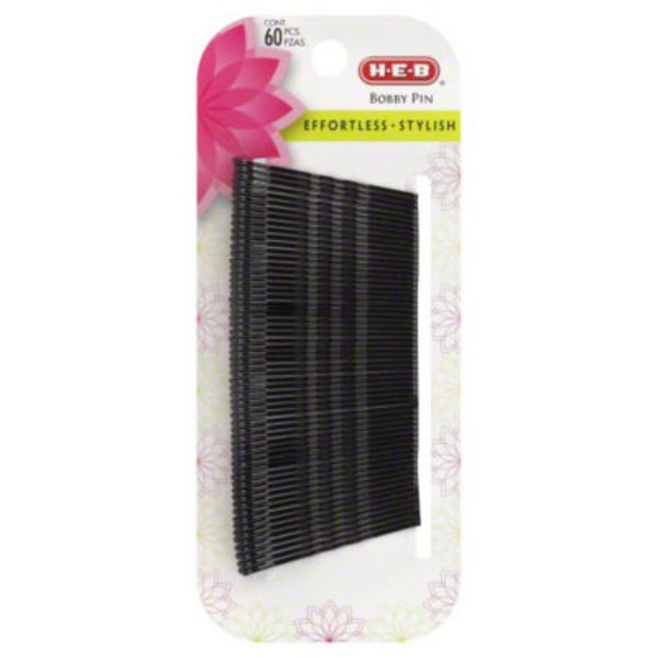 H-E-B Black Bobby Pins