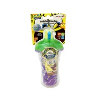 Munchkin Spongebob Insulated Straw Cup, 9 oz