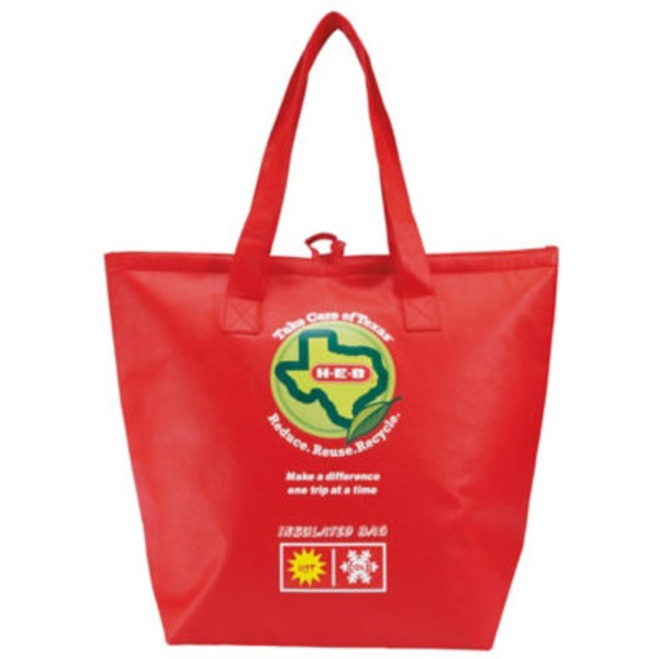 H-E-B Insulated Reusable Shopping Bag