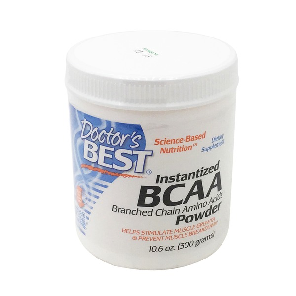 Doctor's Best Instant BCAA Powder