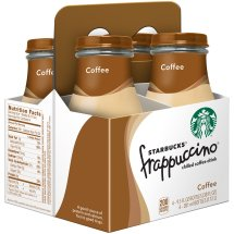 Starbucks Frappuccino Chilled Coffee Drink, Coffee, 9.5 Fl Oz, 4 Count