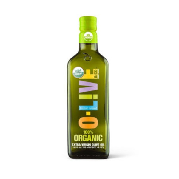 O-Live & Co 100% Organic Extra Vrigin Olive Oil
