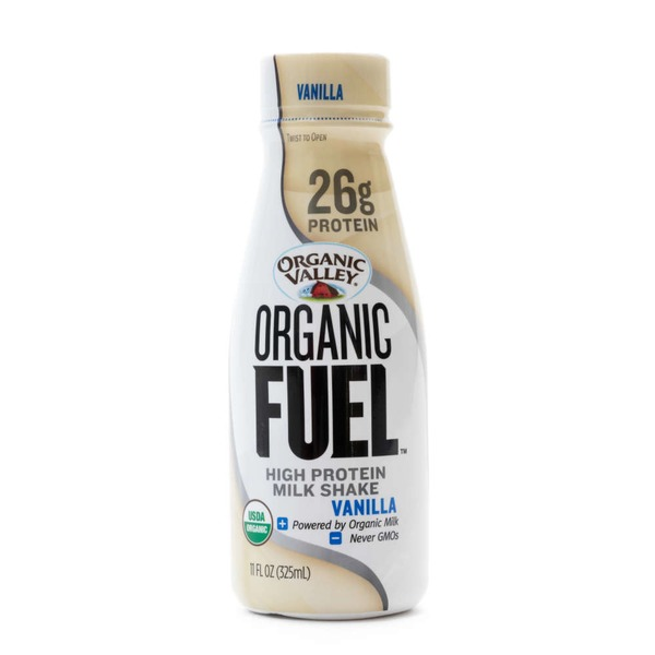 Organic Valley Organic Fuel Vanilla High Protein Milk Shake