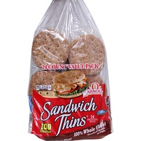 Arnold Sandwich Thins 100% Whole Wheat