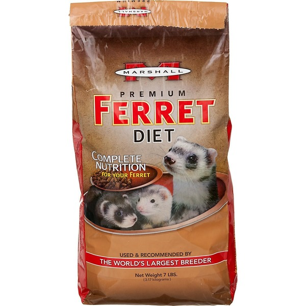 Marshall Pet Products Marshall 7# Ferret Premium Diet