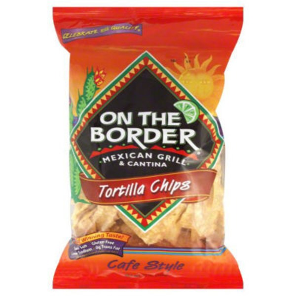 On The Border Mexican Grill & Cantina Cafe Style Tortilla Chips