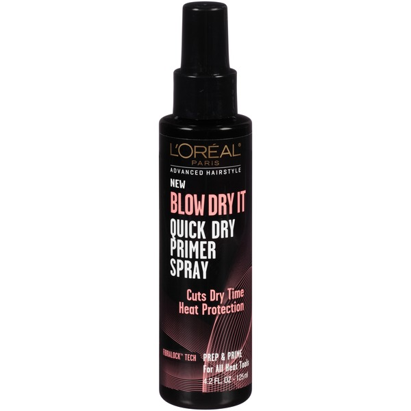 Advanced Hairstyle for All Heat Tools Blow Dry It Quick Dry Primer Spray