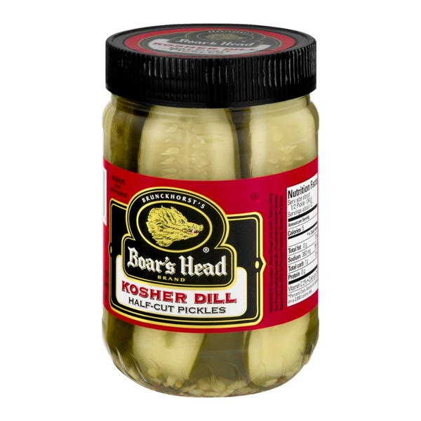 Boar's Head Half-Cut Kosher Pickles Dill