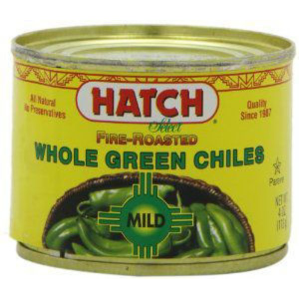Hatch Fire-Roasted Mild Whole Green Chiles