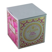 Voluspa Pink Citron Natural Apricot & Coconut Wax Hand Poured Luxury Candle