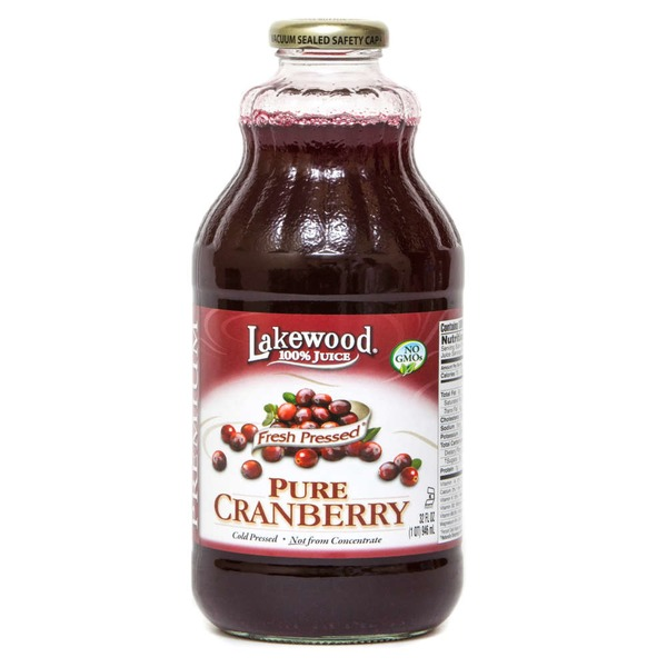 Lakewood Fresh Pressed Pure Cranberry Juice