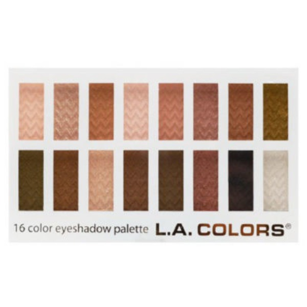 L.A. Colors C74201 Sweet 16 Color Eyeshadow Palette
